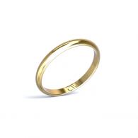 Alianza Rhea Oro amarillo 2,5 mm x 1,3 mm