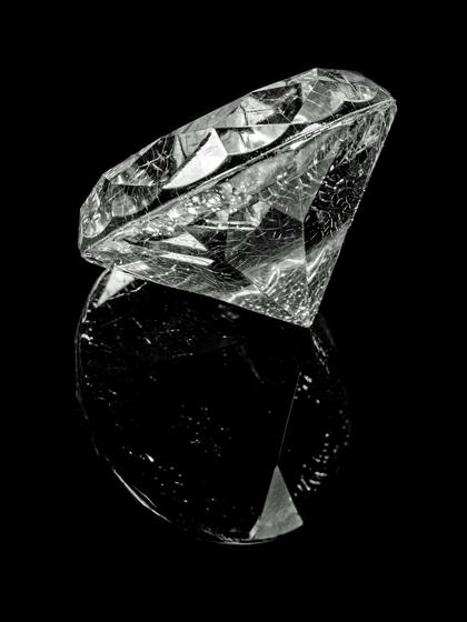 Quilates de un diamante