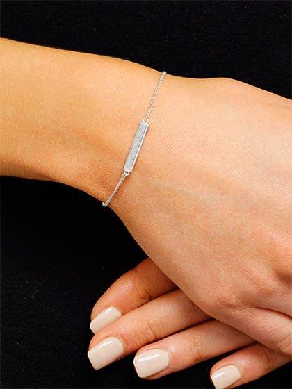Cuidar pulseras de plata