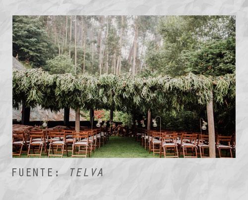 Ideas para la ceremonia de una boda campestre