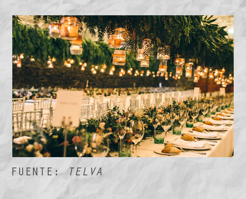 Ideas para el banquete de una boda campestre