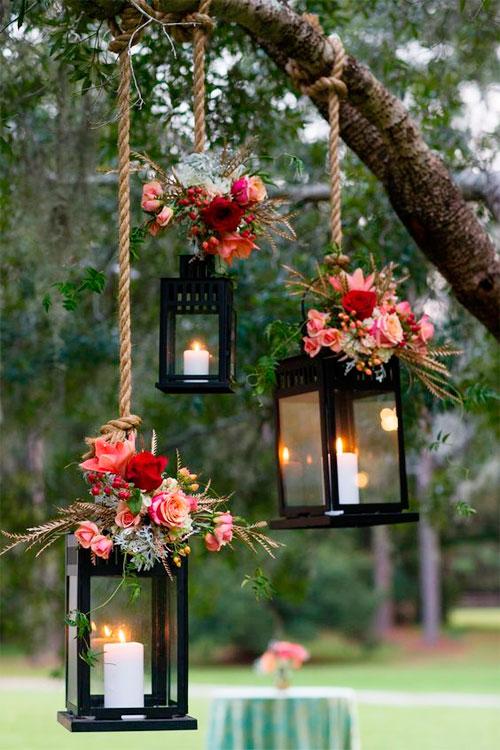 Velas flotantes para bodas veraniegas originales